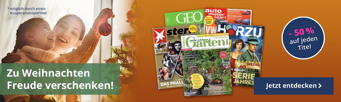 Zeitschriften als persönliche Geschenkidee entdecken