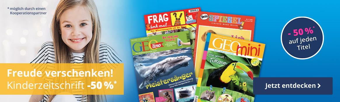 Kinderzeitschriften als Geschenkidee entdecken