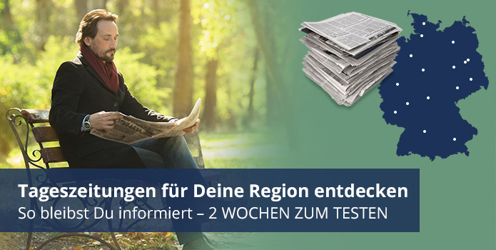Tageszeitungen für Deine Region - hier entdecken