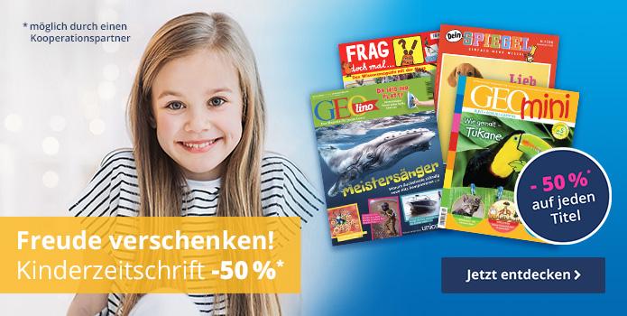 Kinderzeitschriften als Weihnachtsgeschenk