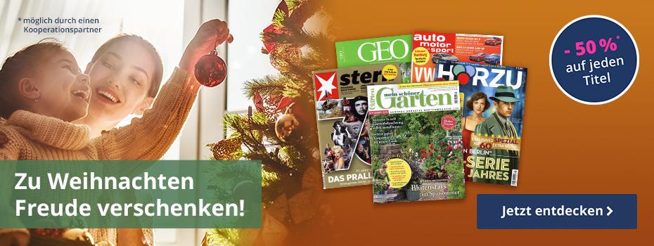 Zu Weihnachten Freude verschenken - unter 25,00 €